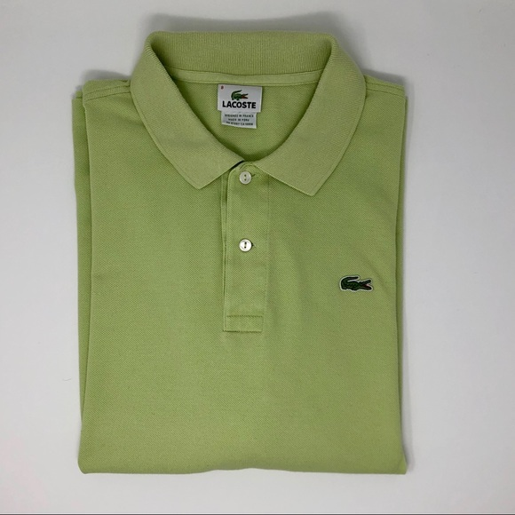 Lacoste Other - Lacoste Light Green Polo Shirt Size 8 (XXXL)